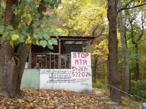 Larry's cabin on Kayford Mountain
