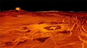 Venus terrain composite (NASA)