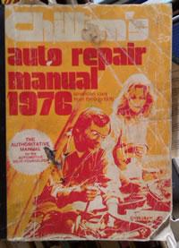 Dad's Chilton's manual