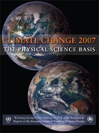 IPCC WG1 report cover