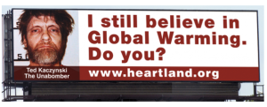Heartland's Unabomber billboard