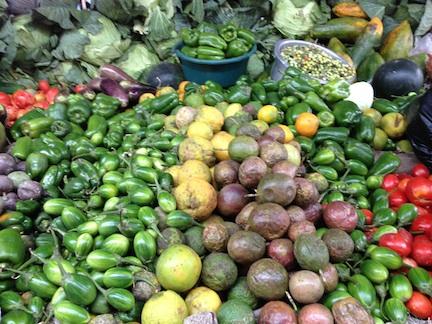 Plenty of fresh veggies