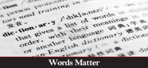 CATEGORY: WordsMatter