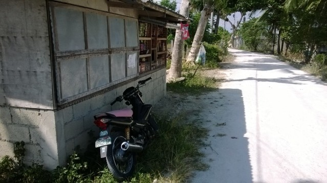 Village shop, Moalboal, Philippines