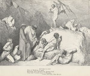 The Sowers of Discord, by Gustave Dore (Project Gutenberg)