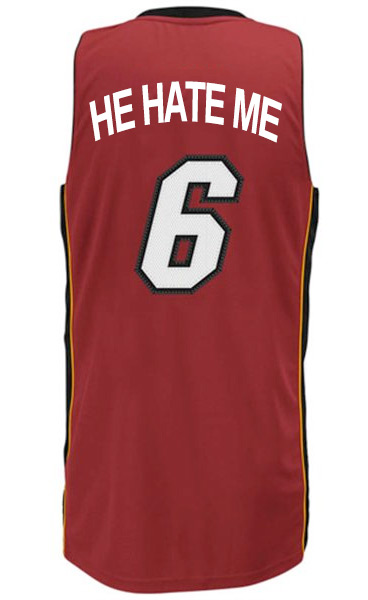 sale retailer 5ff69 50235 Exclusive: pics of the new LeBron James nickname jersey ...