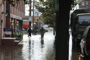 Hoboken after Hurricane Sandy. Image Wikimedia Commons