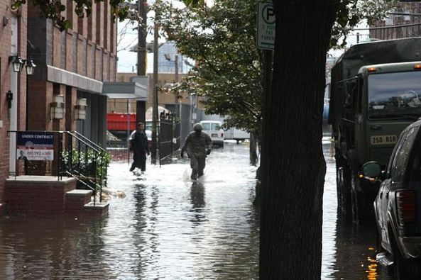 Hoboken after Hurrican Sandy