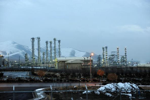 Arak nuclear reactor in Iran