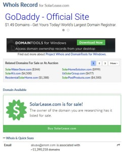 Solarlease.com for sale