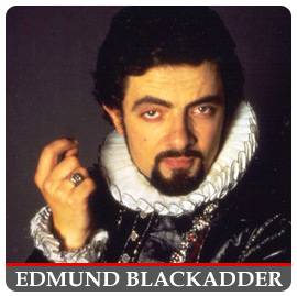 S&R Honors Edmund Blackadder