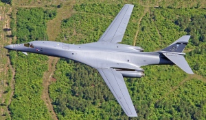 Using a bomber such as the B-1 against the Islamic State endangers civilians even more than fighter attacks. (Photo: Christopher Ebdon / Flickr Commons)