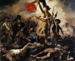 Liberty Leading the People: Eugène Delacroix