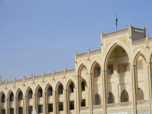 Government building in Raqqa, Syria, the Islamic State's de facto capital. (Photo: Beshr O / Flickr)