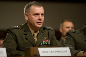 The Ukraine crisis has renewed calls by retired Gen. James Cartwright, former U.S. nukes commander, to wean the United States and Russia from launch on warning. (Photo: D. Miles Cullen / U.S. Dept. of Defense)