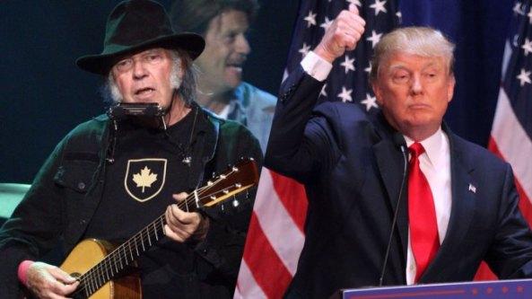 neil-young vs donald-trump