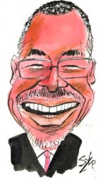 Caricature by Paul Szep