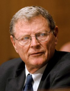 James Inhofe (Image credit: DeSmogBlog)