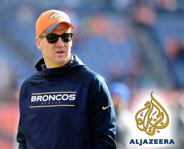 Peyton Manning al Jazeera