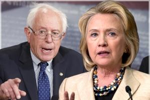 Hillary Clinton & Bernie Sanders