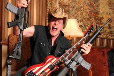 Presumptive Secretary of Defense Ted Nugent