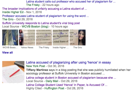 Tiffany Martinez journalism malpractice