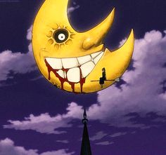 Soul Eater - The Moon bleeds from the mouth when someone's died
