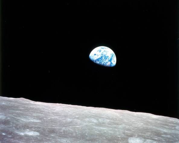 Earthrise from Apollo 8, December 24, 1968 (image credit: NASA)