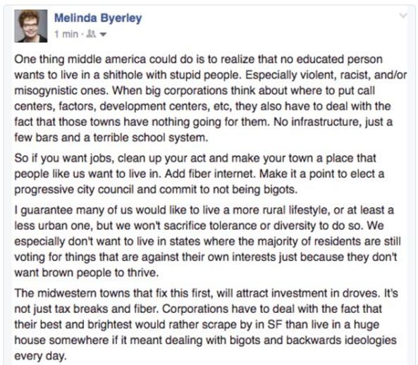 Melinda Byerley rant