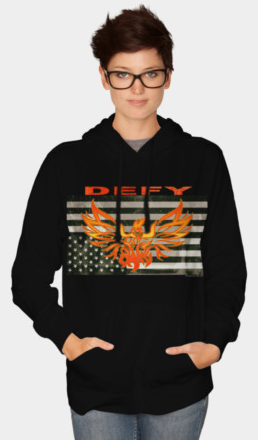 DEFY Hoodie - click to shop