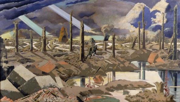 The Menin Road, Paul Nash, 1919 IWM ART 2242