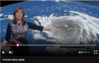 Hurricane Maria climate