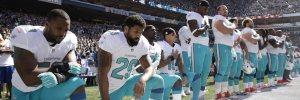 National-anthem-dolphins-kneeling