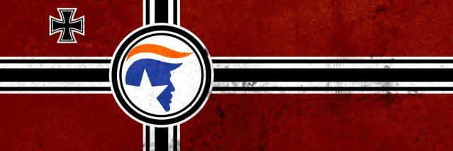 Trump-nazi-flag