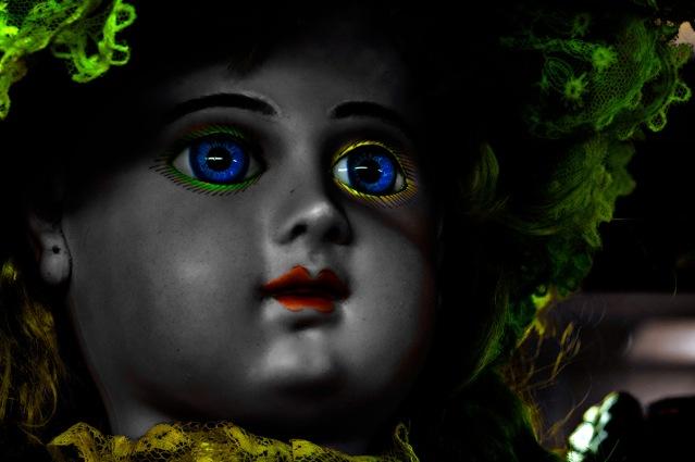 vintage dolls - Neon