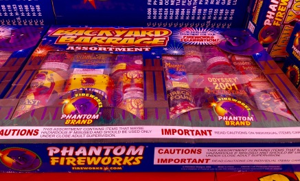 package of fireworks