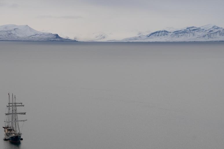 Antigua, glacier, Arctic Ocean, Ymerbukta, Esmarkbreen, Longyearbyen, The Arctic Circle, Svalbard, Spitsbergen, Norway, climate change
