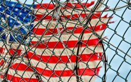 us-flag-fence